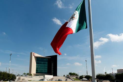 Bandera de México, Plaza Mayor de Torreón