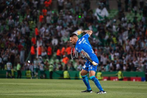 gol de Santos, festejo