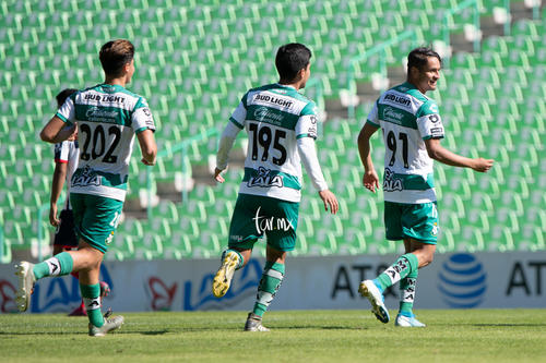 Segundo gol Adrían Lozano