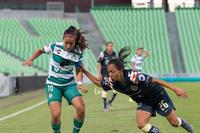 Guerreras vs Águilas, Wendy Morales, Cinthya Peraza