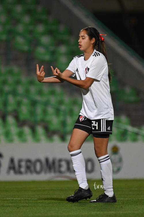 Valeria Razo, festejo de gol