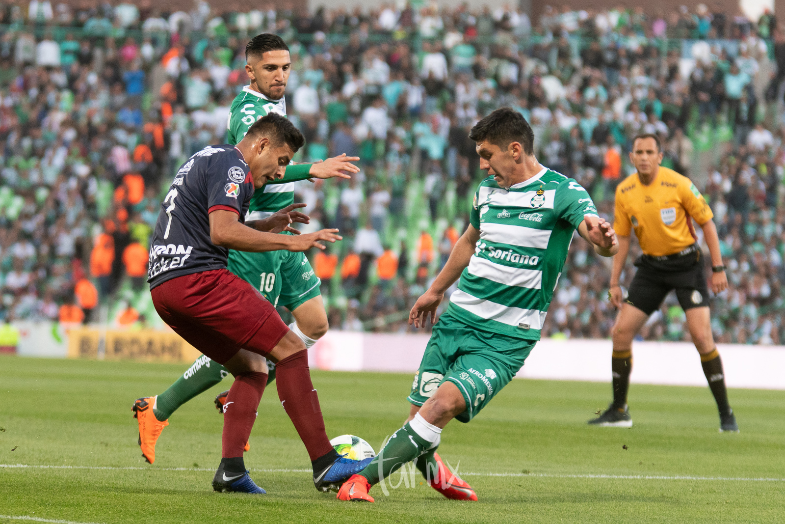 Alexis Vega, Diego Valdés, Jesús Angulo