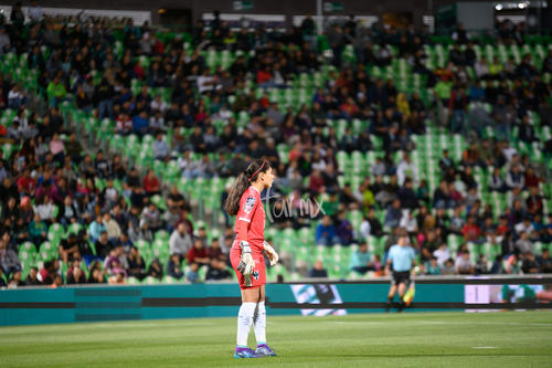 portera Monterrey, asistencia TSM fútbol femenil