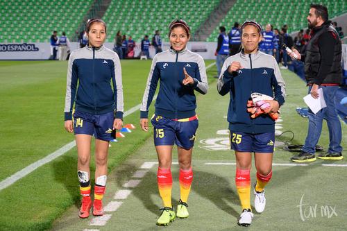 Kenia Menera 14, Alejandra Calderón 15, Eva Solís 25