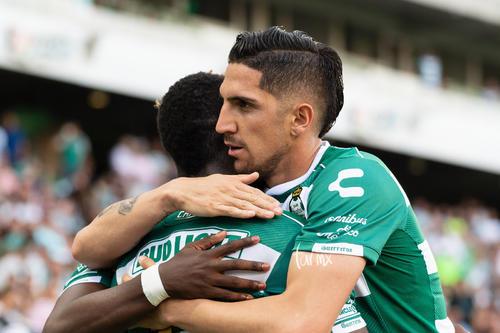 Celebración de gol de Marlos Moreno