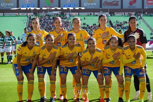 Equipo de Tigres Femenil