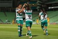festejo de gol, Cinthya Peraza, Alexxandra Ramírez, Ashly Ma