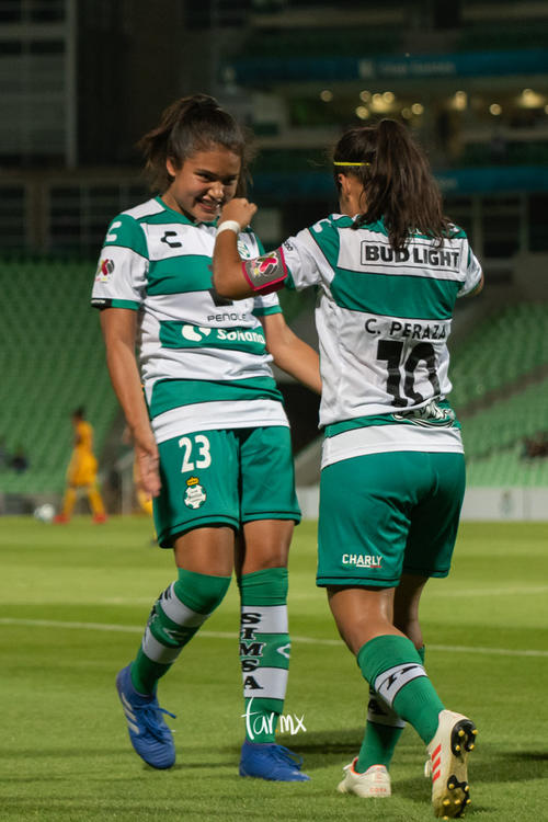 festejo de gol, Cinthya Peraza, Alexxandra Ramírez