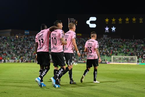 Julio Furch, Brian Lozano, Diego Valdés, Eryc Castillo