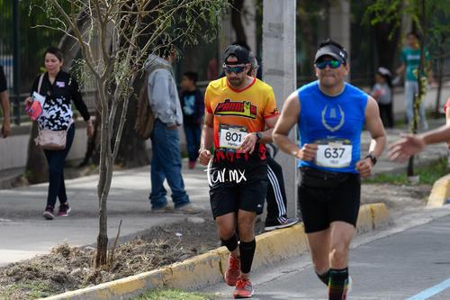 Maratón LALA 2020, Bosque Venustiano Carranza
