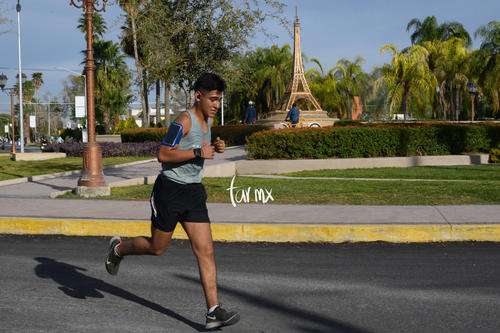 Maratón LALA 2020, Paseo Central
