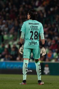 Carlos Acevedo, portero