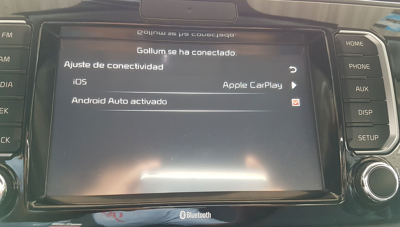 Configuración de conectividad Kia Rio
