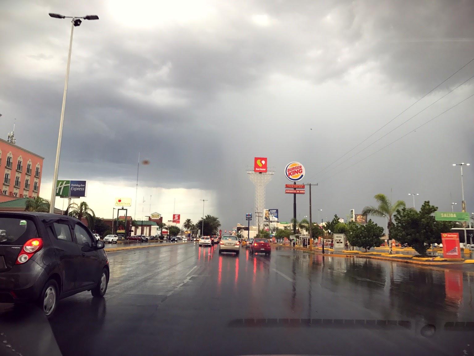 lluvia en Torreón