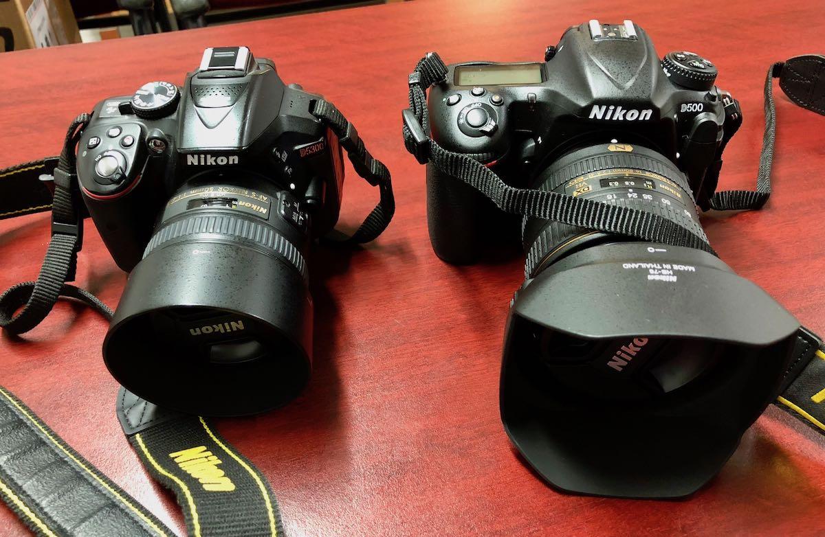 Nikon D5300 vs Nikon D500