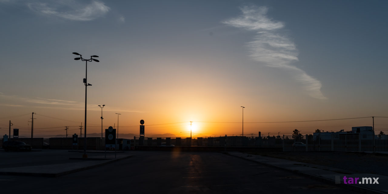 Puesta de sol desde el Estadio Corona TSM