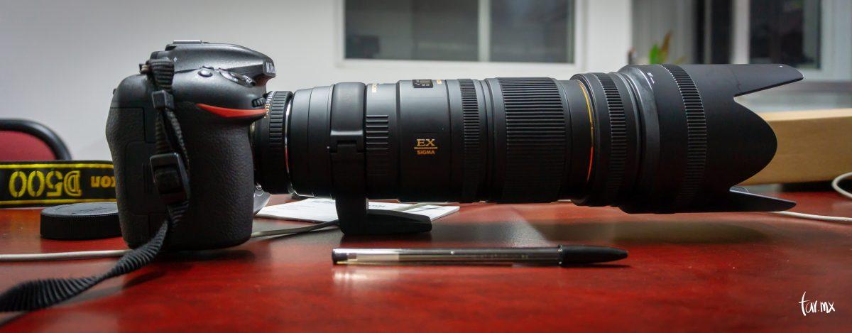 D500 en Sigma 70 200