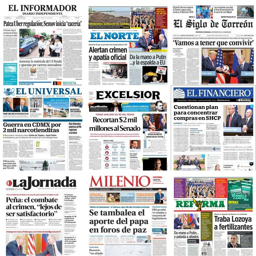 portadas impresas mexico