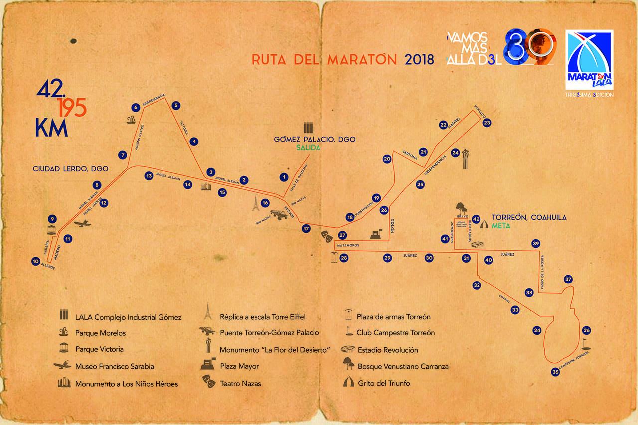 ruta maraton lala