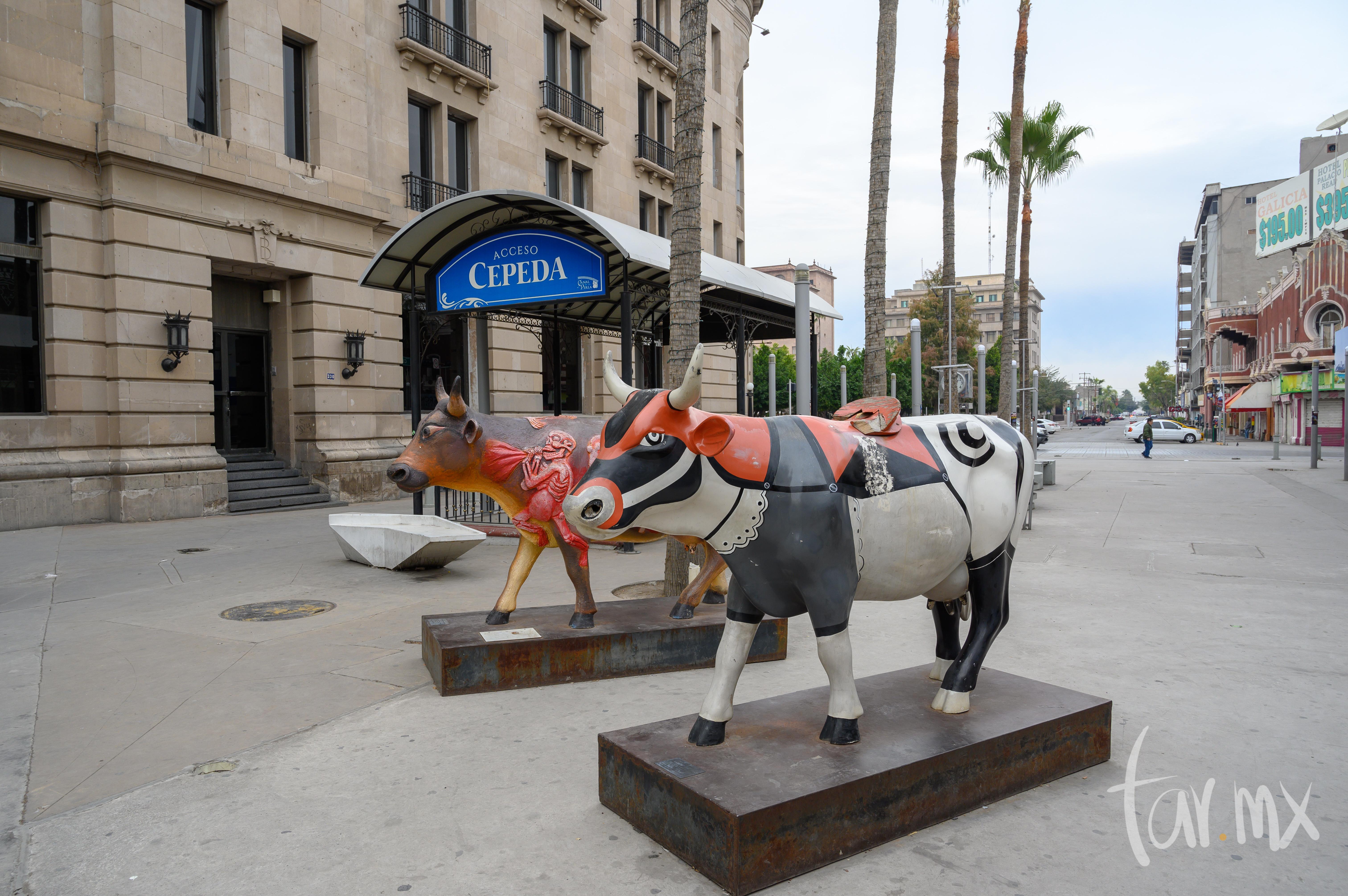 Vaquitas del museo Arocena