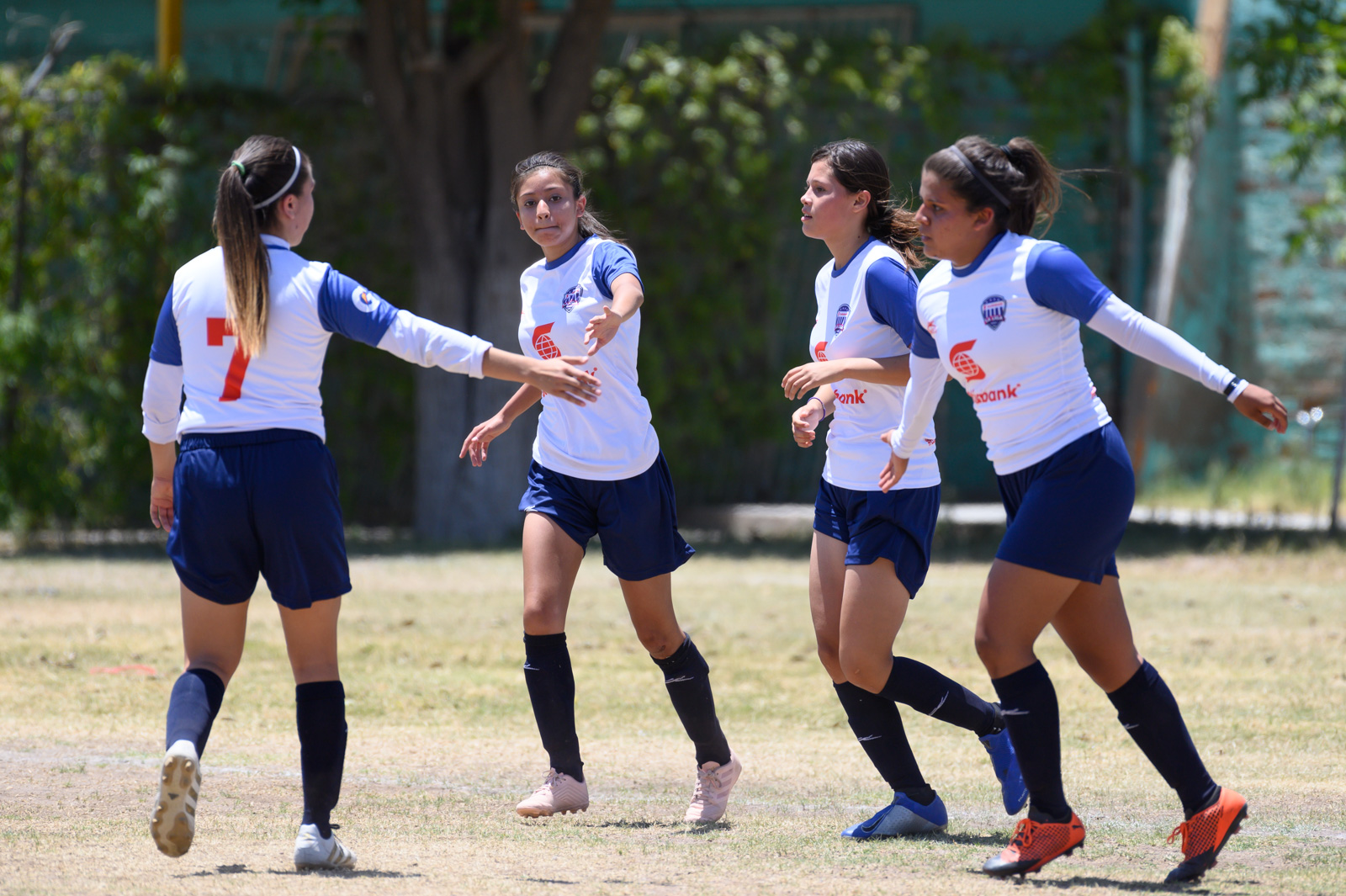 festejo de gol, Aztecas FC Femenil