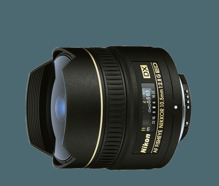 Nikon fisheye 10.5mm f/2.8