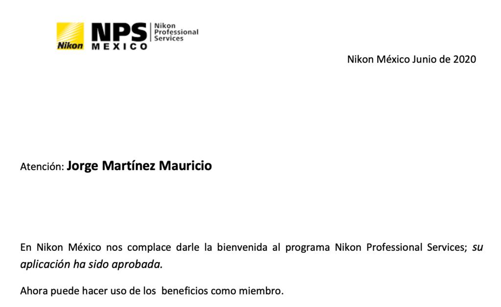Nikon NPS México